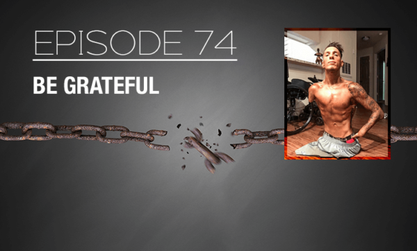 Welcome to the Latest Episode of Dropping Bombs: Brad Lea's Explosive Podcast - Real Advice for Entrepreneurs. New Dropping Bombs Podcast Episode: Be Grateful Everyday. Episode 74 with The Real Brad Lea (TRBL). Guest: Nick Santonastasso. featured image