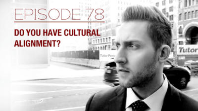 Do you have cultural alignment? Episode 78 with The Real Brad Lea (TRBL). Guest: Jay Doran.